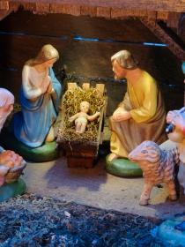 El significado de soñar con un belén de Navidad