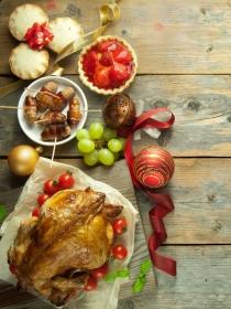 Alimentos sanos y baratos para los mejores menús de Navidad