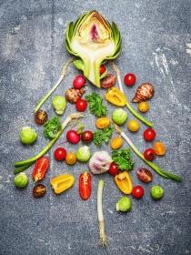 Cómo preparar platos vegetarianos para Navidad