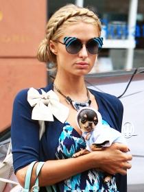 Cómo hacer el peinado romántico de corona y moño de Paris Hilton