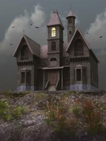 El significado de soñar con vivir en una casa encantada