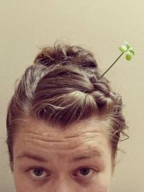 Sprout Hair: la moda china de llevar plantas en el pelo