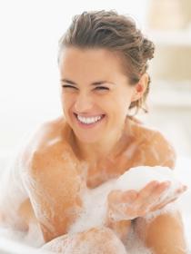 Higiene vaginal antes y después de la regla