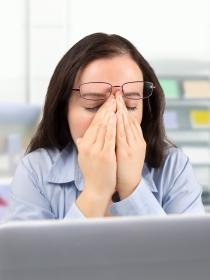 5 consejos para evitar la fatiga ocular en la oficina