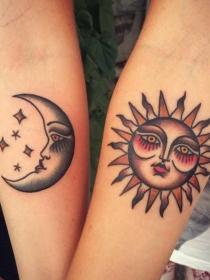 Ideas de tatuajes que se hacen una hermana y un hermano