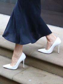 Moda: cómo combinar los zapatos blancos sin hacer el ridículo