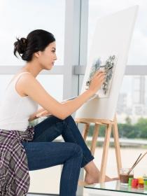 Significado de sueños: soñar con pintar un cuadro