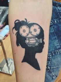 10 tatuajes para rendir homenaje al cine