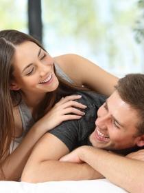 La frecuencia sexual de las parejas felices