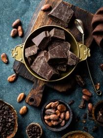 Recetas con chocolate negro con menos de cinco ingredientes
