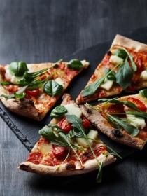 Dieta: cómo hacer pizzas sanas para no engordar