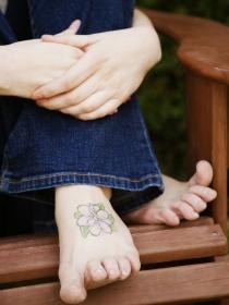 Tatuajes para los pies