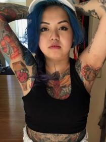 Ideas de tatuajes para las axilas