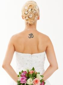 Las novias tatuadas más guapas y elegantes