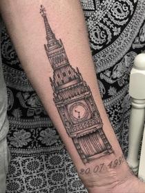 Tatuajes inspirados en ciudades