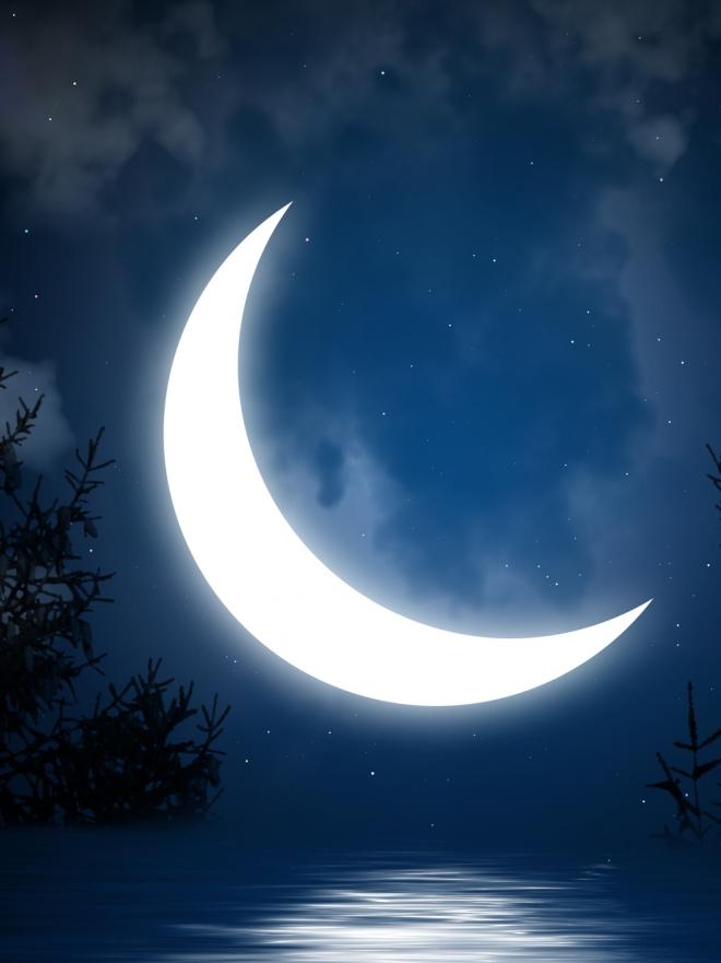 Soñar con la luna menguante: llegará tu momento
