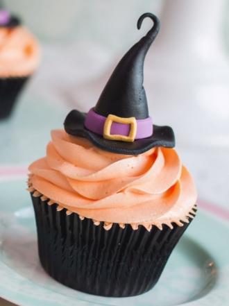 Recetas de Halloween: cómo hacer cupcakes de bruja