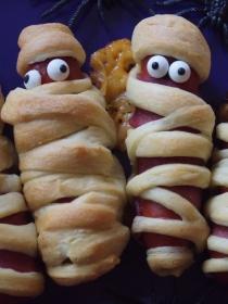 Recetas de Halloween sencillas: cómo hacer momias terroríficas
