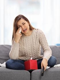 Por qué las personas que lloran son más felices
