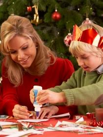 7 maneras fáciles de hacer copos de nieve para Navidad