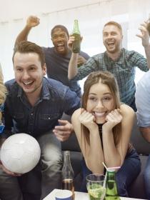 Los efectos en tu cuerpo cuando ves fútbol
