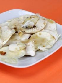 Recetas de aperitivos fáciles: el carpaccio de champiñones más rico