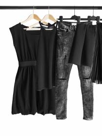Cómo lavar tu ropa negra sin estropearla