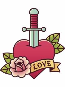 Ideas de tatuajes para San Valentín, ¡todo amor!