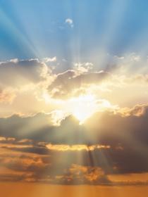 Soñar con un rayo de sol poco definido: llega la esperanza