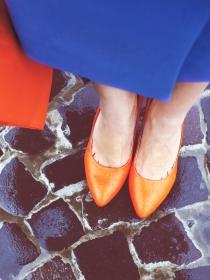 A la hora de vestir, aprende a combinar colores