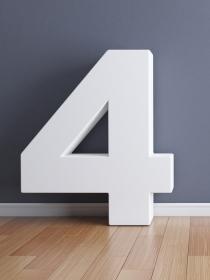 Numerología: significado del número 4
