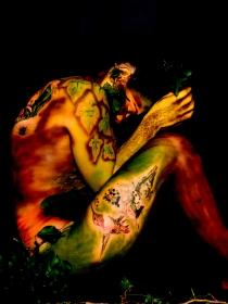 Cómo el Body Painting sube tu autoestima