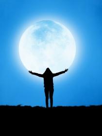 La regla y la luna: Cómo hacer un diagrama lunar con tu ciclo menstrual