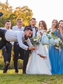 Las fotos de boda más divertidas y locas: inspírate en ellas