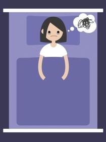 Dormir con los ojos abiertos: ¿un problema grave?
