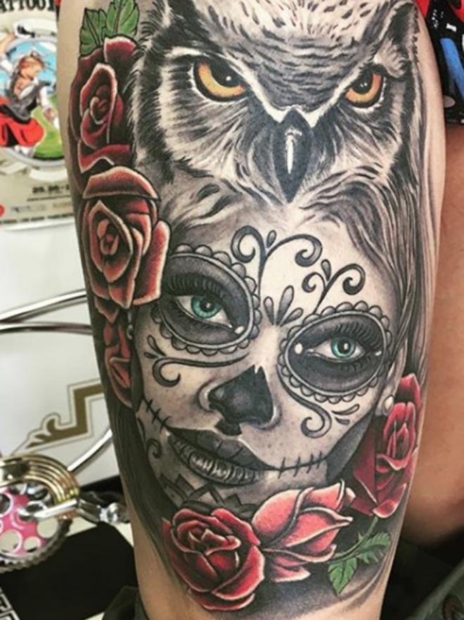 Los Significados Secretos De Los Tatuajes De Catrinas