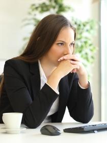 Estar quemado en la oficina o síndrome del burnout