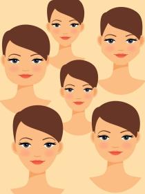 Qué transmite de tu personalidad la forma de tu cara