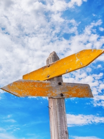 Soñar con un cruce de caminos: ¿tienes dudas?
