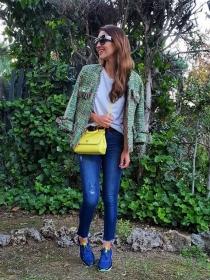 Cómo combinar tus skinny jeans, el vaquero de moda