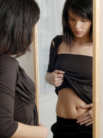 El Síndrome del espejo: obsesionada con los defectos
