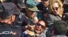 Isabel Pantoja, atacada y tirada de los pelos a la salida del juzgado