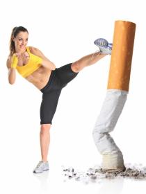 Ponte en forma y deja de fumar en 20 minutos (al día)