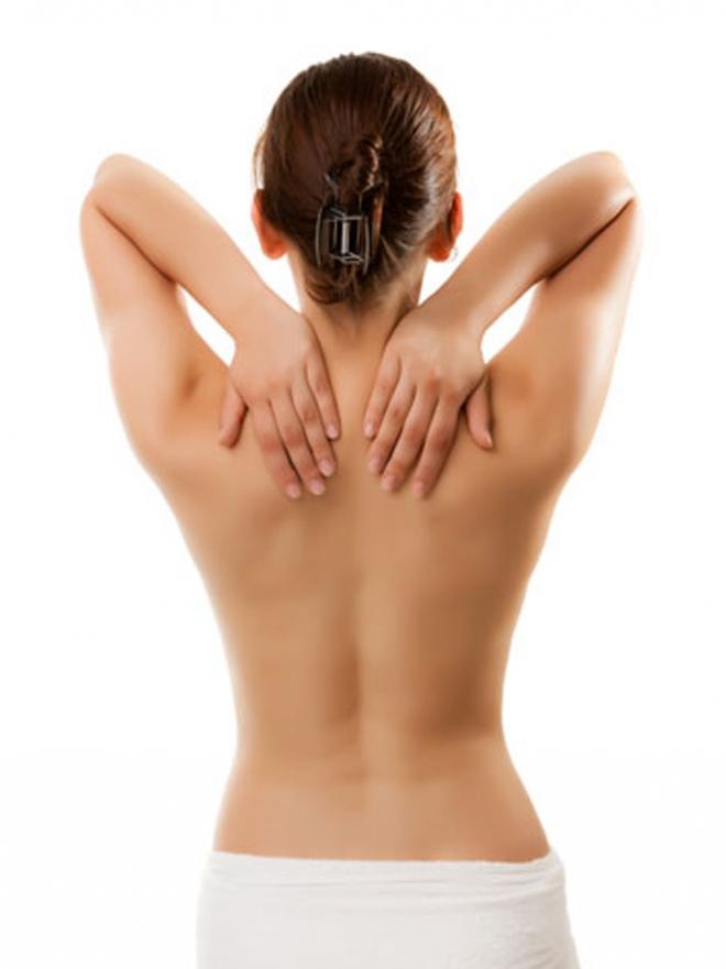dolor de espalda parte izquierda arriba
