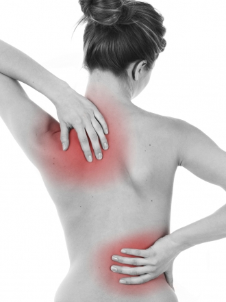 dolor parte izquierda espalda baja