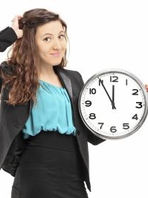 Mujeres que siempre llegan tarde