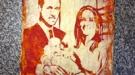 Kate Middleton y el Príncipe Guillermo en una pizza: los regalos frikis del Príncipe Jorge