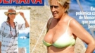 Mercedes MIlá, pillada en bikini, portada de la revista Semana
