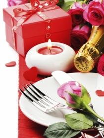 Cena de San Valentín en casa