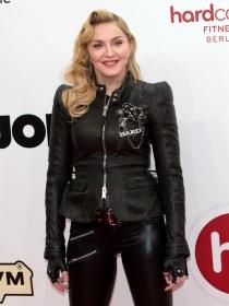 Madonna y sus zapatos